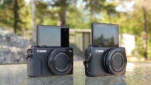 Canon G7X Mark II -image