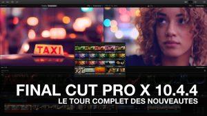 logiciel de montage vidéo - Final Cut Pro