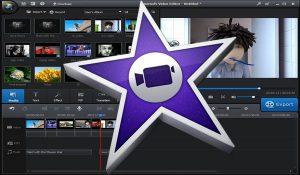 logiciel de montage vidéo - iMovie